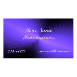 diffused blue business card