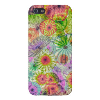 Diffused Glass Flowers iPhone 5/5S Cases