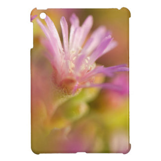 Diffused Image Of A Colorful Succulent Flower Cover For The iPad Mini