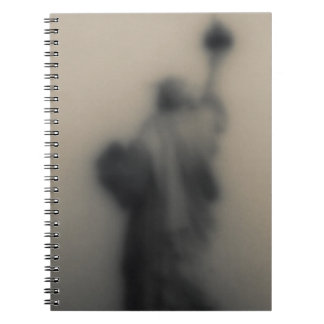 Diffused image of the Statue of Liberty Notebook