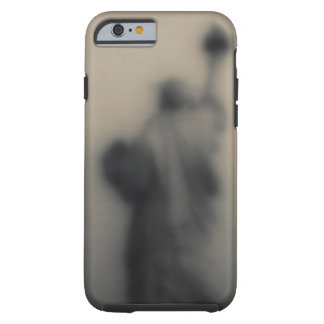 Diffused image of the Statue of Liberty Tough iPhone 6 Case