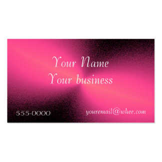 diffused pink business card template