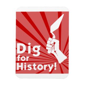 Dig for History! Fridge Magnet