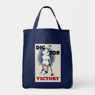 Dig For Victory Tote Bag