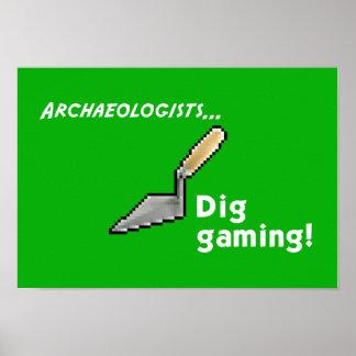 Dig Gaming! Poster