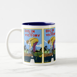 Dig In For Victory Coffee Mugs
