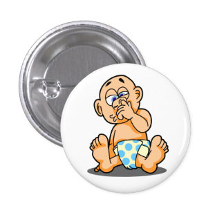 Dig Nose Button
