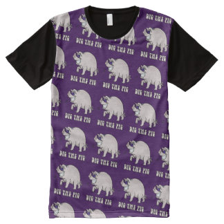 Dig the Pig All-Over Print T-Shirt