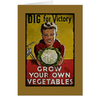 Dig Your Own Victory Garden Cards