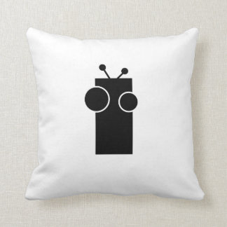 Digby Robot - Black and White reversible cushion. Cushion