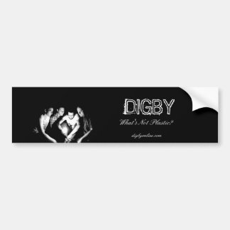 DIGBY What s Not Plastic Bumper Stickers