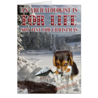 Digby's Cristmas Cards! Greeting Card