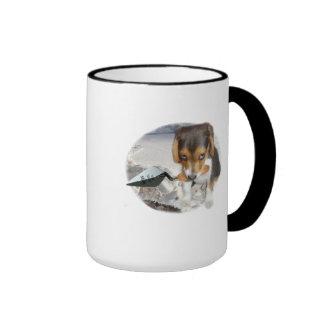 Digby's Tea Club Xmas Special Ringer Mug