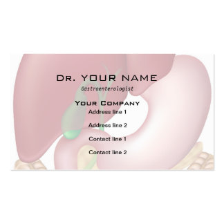 Digestive system doctor Business Card