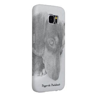 Digger Cross Sketch Samsung Galaxy S6 Cases