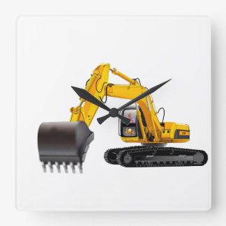 Digger image for Square-Wall-Clock Wall Clock