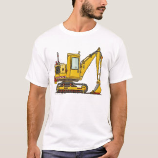 Digger Shovel Construction Apparel T-Shirt