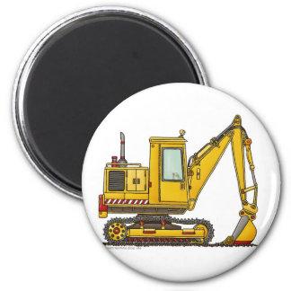 Digger Shovel Construction Magnets