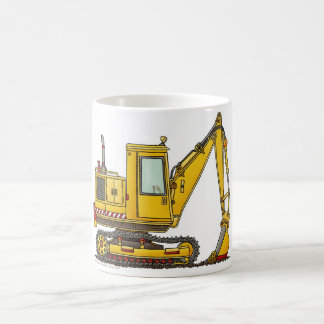 Digger Shovel Construction Mugs