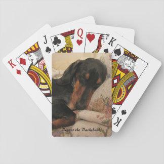 Digger Sleeping Playing Cards