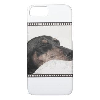 Digger Sleeping Sketch iPhone 7 Case