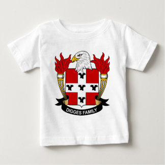 Digges Family Crest Baby T-Shirt