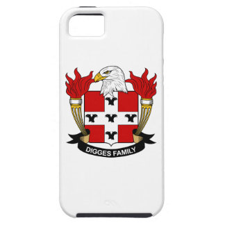 Digges Family Crest iPhone 5 Cases