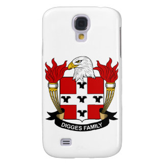 Digges Family Crest Samsung Galaxy S4 Case
