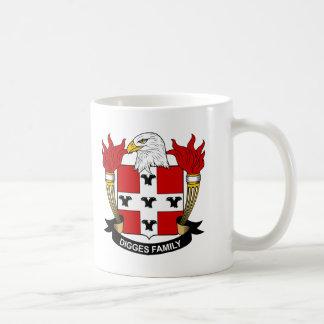 Digges Family Crest Mug