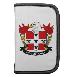 Digges Family Crest Planner
