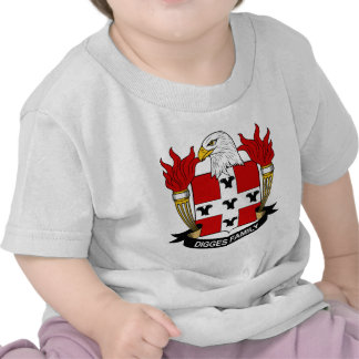 Digges Family Crest T-shirts