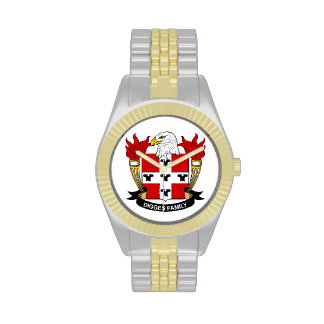 Digges Family Crest Wrist Watch