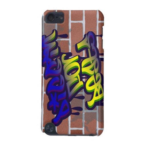 diggin for beats graffiti ghetto design iPod touch 5G cases