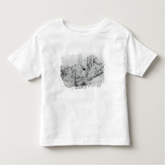 Digging a well in Lower Bedford Place, London Toddler T-Shirt