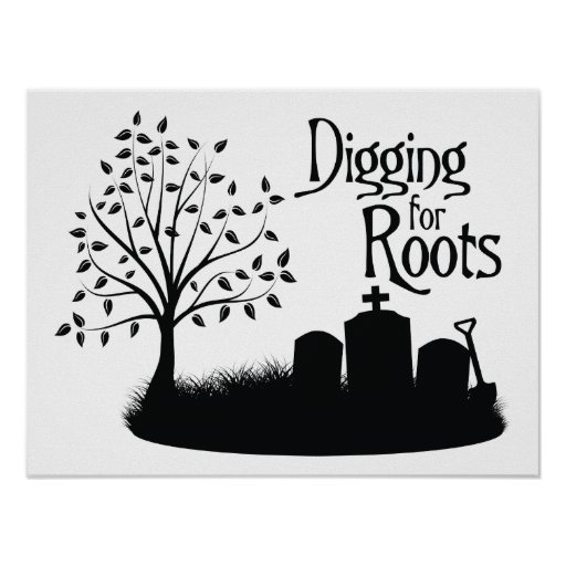 Digging For Roots Poster