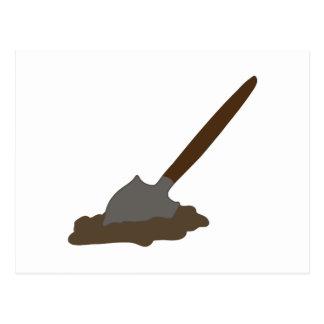 Digging Spade Postcard