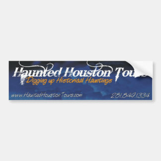 Digging up Historical Hauntings Bumper Sticker