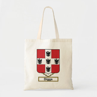Diggs Family Crest Canvas Bag
