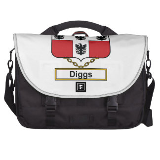 Diggs Family Crest Bags For Laptop