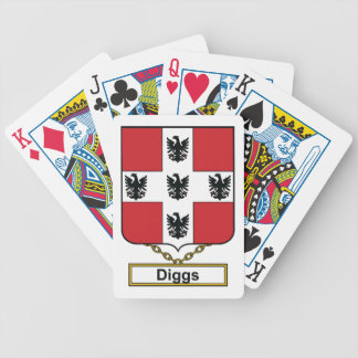 Diggs Family Crest Bicycle Card Deck