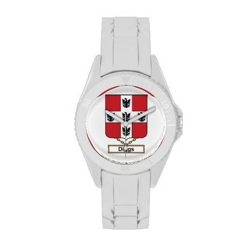 Diggs Family Crest Watch