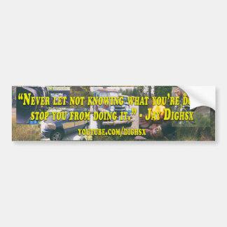 Dighsx Industries Bumper Sticker