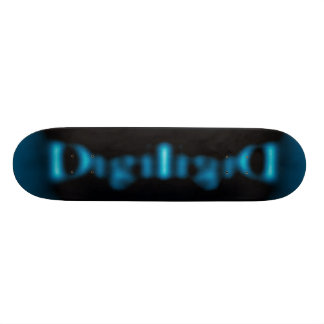 Digi-Logo Deck Skate Board Deck