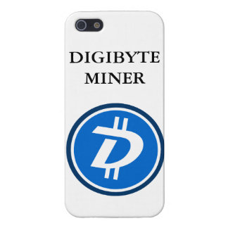 DIGIBYTE Miner Iphone Galaxy case iPhone 5 Covers