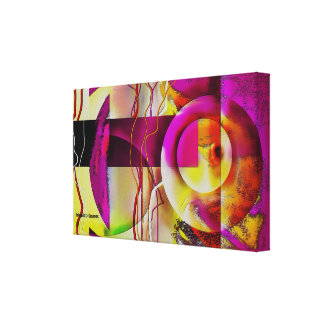 Digital Abstract 00A201 Canvas Print
