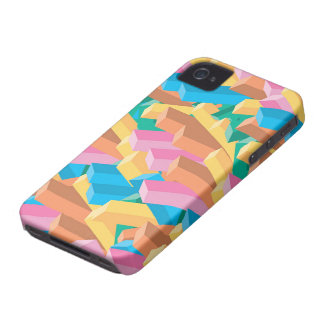 Digital Abstract Art Colorful iPhone 4 CaseMate iPhone 4 Cases