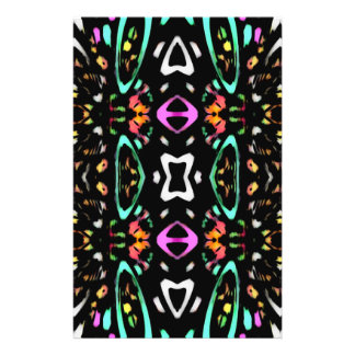 Digital Abstract Art Multicolored Pattern Flyers