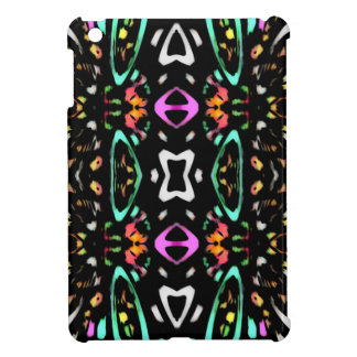 Digital Abstract Art Multicolored Pattern Cover For The iPad Mini