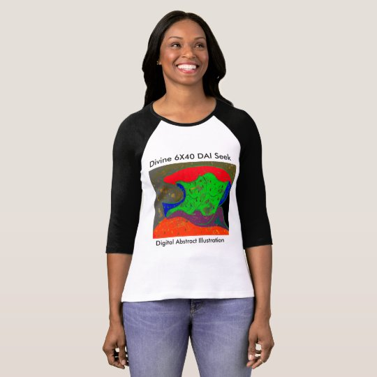 Digital Abstract Illustration DAI C T-Shirt