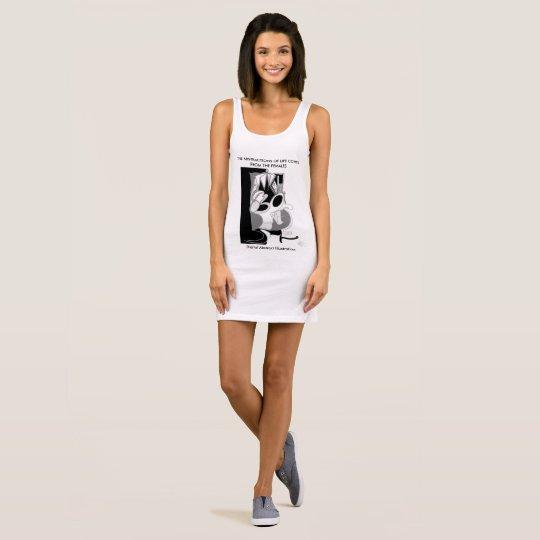Digital Abstract Illustration DAI Sleeveless Dress